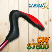 이단 조절식 쿠션 알루미늄 지팡이 CW-ST500레드