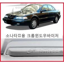 경동 소나타2 크롬윈도우바이져 [K-674] /크롬썬바이저/크롬선바이저/크롬몰딩/몰딩셋트/크롬튜닝 자동차용품