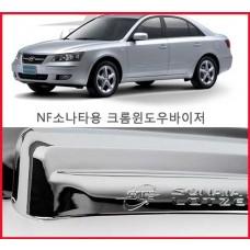 경동 NF소나타 크롬윈도우바이져 [K-642] /크롬썬바이저/크롬선바이저/크롬몰딩/몰딩셋트/크롬튜닝 자동차용품 부품