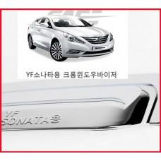 경동 YF쏘나타(2009~) 크롬 썬바이져 K-712 /완소카/썬바이저/크롬/고광택/햇빛가리개/빗물/자외선/차량용
