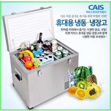 차량용 냉장냉동고 CA-B-55DS /스텐타입 53L