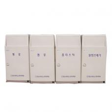 실내용분리수거함 45L*4 STC-450A (4분류)
