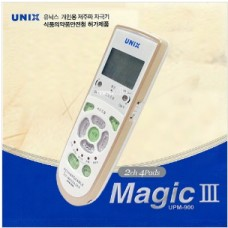 [UNIX] 유닉스 저주파 자극기 UPM-900/맥스타 산업 (채널별 강도조절/스테레오 분리기능/충전식저주파자극기)