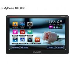 Mydean RX8000/8인치내비게이션/지니 넥스트3D맵 탑재/교통정보TPEG기능