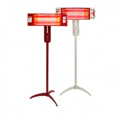 근적외선 [퀄츠골드] 스탠드 히터 HV-1080 전자파 No/비싼난방비 No /난방면적 36.3~49.5㎡
