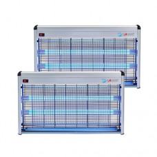NEW  LED 전자 전격 살충기 18~25평 (옥내용) HV-355LED  그레이